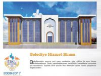 Eskil'e yeni belediye binası yapılıyor