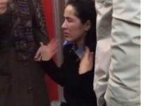 Güvenlik görevlisi kadının yüzüne kimyasal döken saldırgan yakalandı