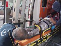 İnşaatın iskelesinden düşen işçi ağır yaralandı