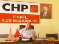 CHP Eskil İlçe Başkanı Özkan Kesmez'in 10 Kasım Mesajı