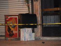Konya'da şüpheli valiz fünye ile patlatıldı