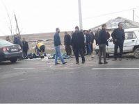 Bozcamahmut'ta kazada 1 ölü 2'si ağır 5 yaralı