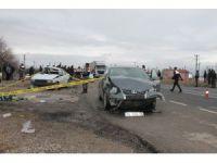 Kaza sonrası vatandaşlar Konya-Aksaray yolunu trafiğe kapattı VİDEO