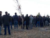 Mustafa Kaçar dualarla uğurlandı
