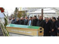 Atiker Konyaspor - Trabzonspor maçında fenalaşarak vefat eden taraftar defnedildi