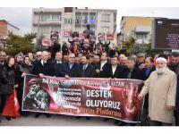 Aksaray'dan Zeytin Dalı Harekatı'na destek