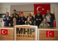 """MHP Selçuklu İlçe Başkanı Güzide Çipan: """"Mutlak zafere olan inancımız imanımız gereğidir"""""""