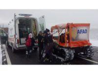 Aksaray'da köyde mahsur kalan hastalara AFAD yetişti