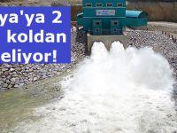 Konya'ya 2 yeni koldan su geliyor