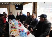 Özaltun'dan esnaf buluşmasında emeklilere yönelik TOKİ müjdesi