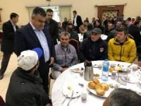 Başkan Özgüven taşeron işçilerle bir araya geldi