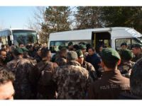 Konya'da özel harekat polisleri, Afrin'e uğurlandı