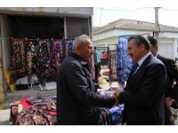 Başkan Tutal pazar esnafı ile buluştu