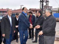 Başkan Altay, vatandaşlarla buluşmayı sürdürüyor