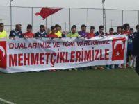 Köyler arası futbol turnuvasında bugün tek maç oynandı.