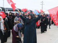 Vicdan konvoyu Aksaray'a ulaştı