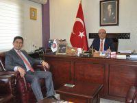 Merkez Büro Sen'den Aksaray Baro Başkanlığına ziyaret