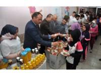 NEÜ, öğrencileri sağlıklı beslenme konusunda bilinçlendirdi