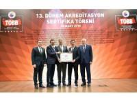 Konya Ticaret Borsası, 'A-Mükemmel' hizmete devam edecek