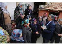 Başkan Özgüven vatandaşlarla buluştu