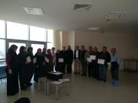 Beyşehir'de açılan diyabet okulu 6. dönem mezunlarını verdi