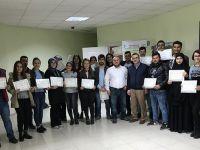 Eskil MYO Son Sınıf Öğrencileri Sertifikalı Eğitimi Tamamladı