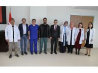 Beyşehir'in Yeni Devlet Hastanesinde 9'u Uzman 17 Yeni Hekim Göreve Başladı