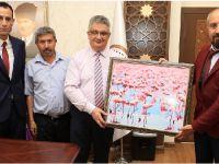 Eskil Gazetesi'nden Vali Aykut Pekmez'e ziyaret