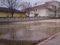 Eskil'de çiftçinin yağmur sevinci
