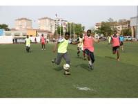 Konya'ada Başkanlık Kupası 4. Uluslararası Öğrenci Futbol Turnuvası başladı