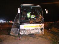 Konya'da Aksaray Yolunda Otobüs Kazası: 18 Yaralı