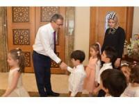 Rektör Şahin, 23 Nisan çocuklarını ağırladı