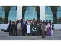 Pakistanlı öğrencilerden, Selçuk Üniversitesi'ne ziyaret