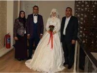 Fatma ile Zübeyir evlendi