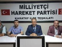 MHP Karatay İlçe Başkanlığına atama! Teşkilatta Eskilli bir isim de yer aldı
