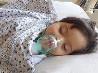Eskilli aileyi kahreden olay! 4 yaşındaki kızları beyin felci geçirdi