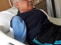 Muzaffer Dinek oksijen tüpüyle yaşama bağlanıyor