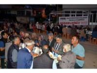 Ereğli Belediyesi mahalle iftarlarına devam ediyor