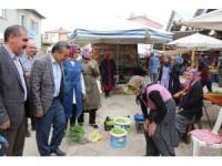 Başkan Tutal, pazar esnafını ziyaret etti