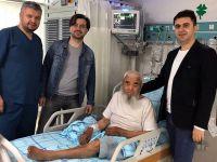 Aksaray'da ilk! Şahdamarı felçli hastaya stent takıldı