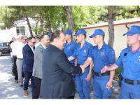 Beyşehir'de protokol bayramlaştı