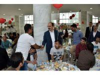 Başkan Altay uluslararası öğrencilerle bayramlaştı