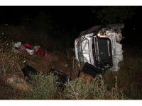 Bayram dönüşü kaza: 1 ölü 3 yaralı