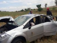 Otomobil takla attı: 1 ölü, 4 yaralı