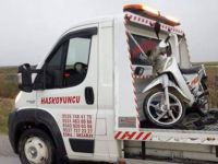 Eskil'de yine motosiklet kazası: 2 yaralı