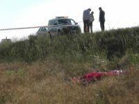 Karayoluna çıkan şahıs otomobilin çarpması sonucu öldü