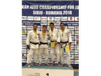 NEÜ'lü genç judocu Gençler Balkan Şampiyonasından ödülle döndü