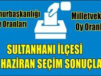 Sultanhanı seçim sonuçları