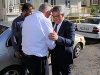 Vali Pekmez Ramazan Kaşlı'ya taziyede bulundu
