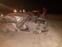 Eskil'de trafik kazası:1 yaralı